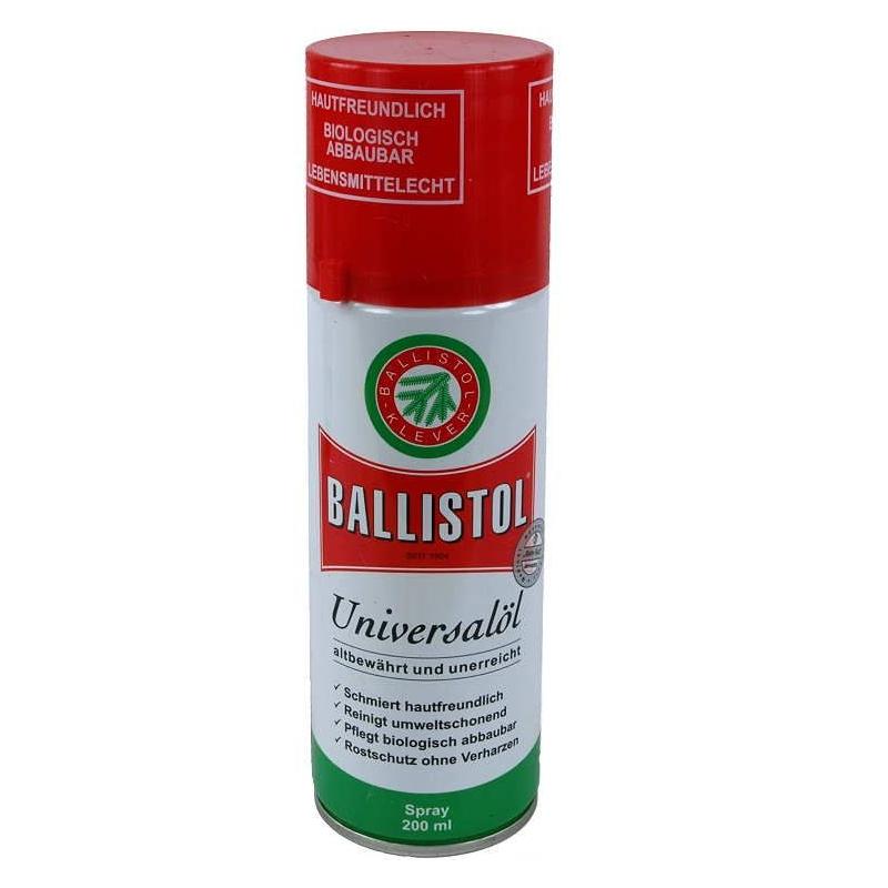 Olej na zbrane v spreji Ballistol 200 ml
