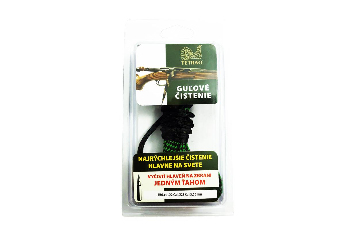 TETRAO šnúra na čistenie guľovnice cal .22, .223, 5.56mm