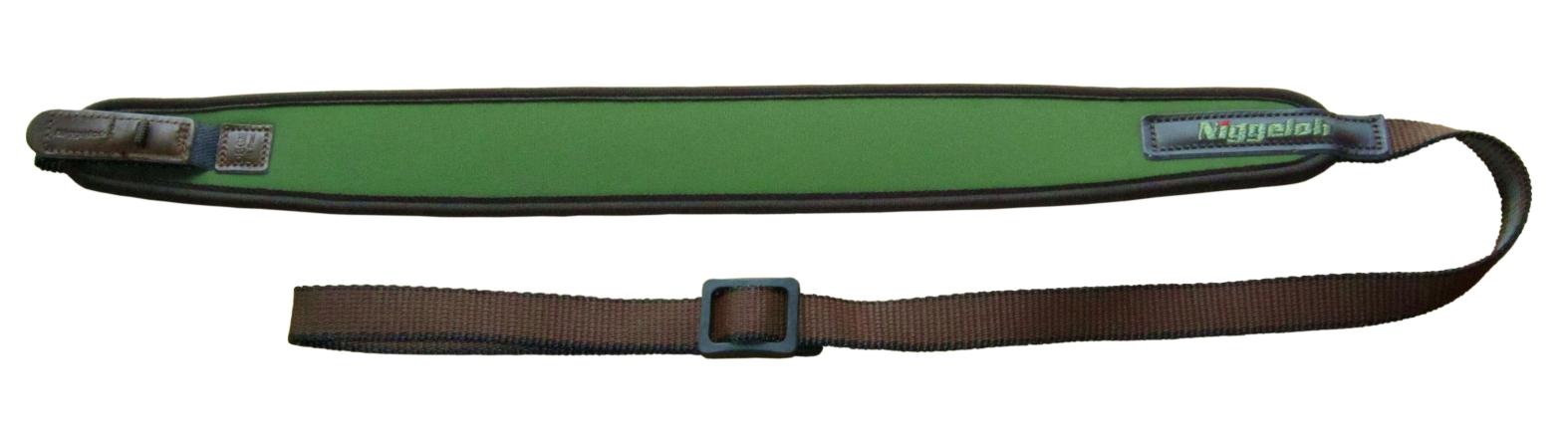 Neoprénový remeň na zbraň Niggeloh Universal s rýchloupínacím zapínaním zelený