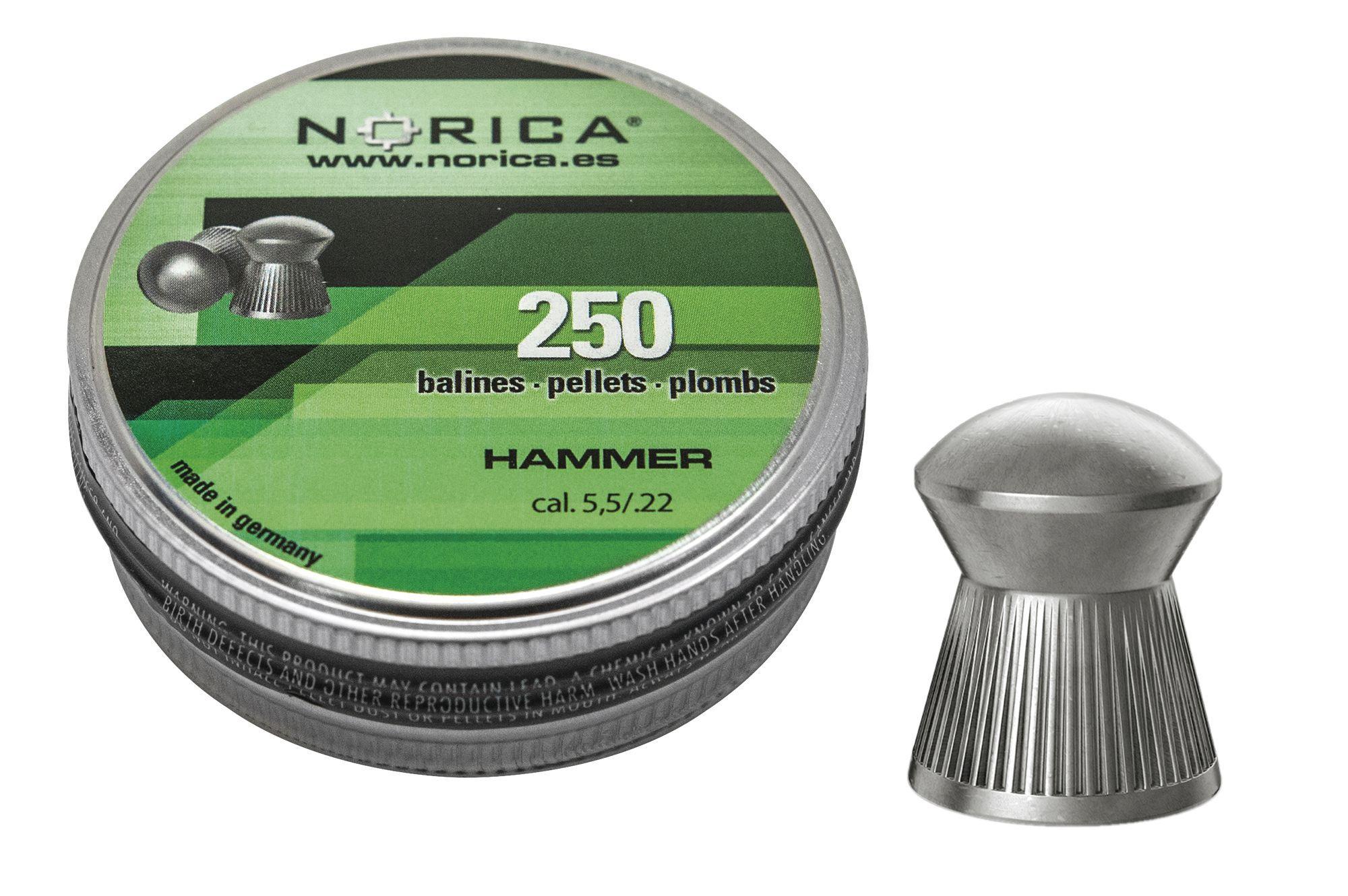 Diabolky NORICA Hammer 5,5 mm 250 ks