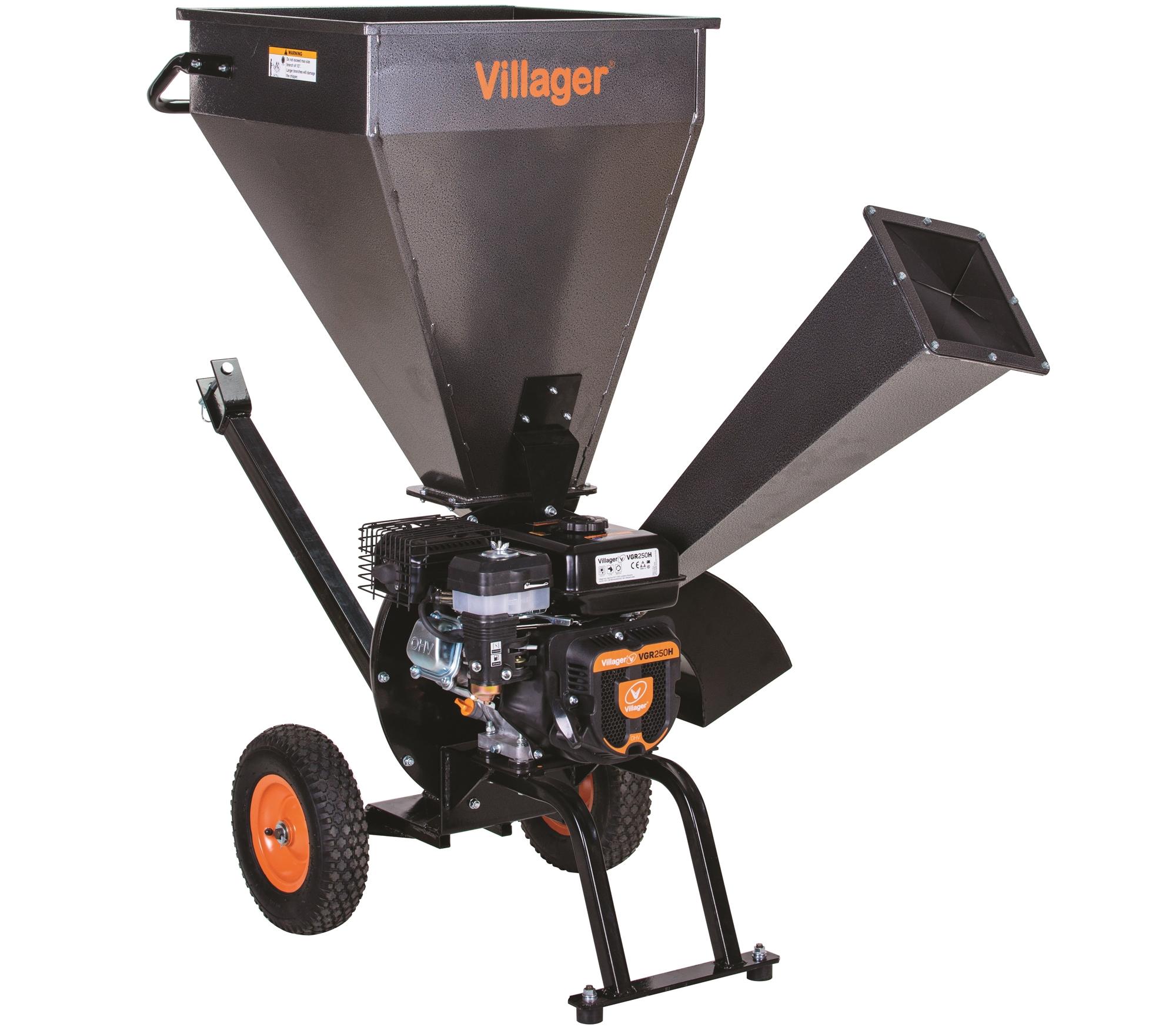 Benzínový záhradný drvič VILLAGER VPC 250 S