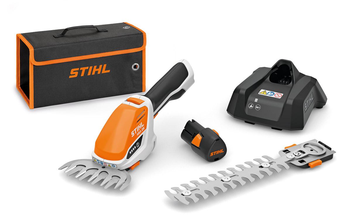 Akumulátorové nožnice na živý plot STIHL HSA 26, bez batérie a nabíjačky