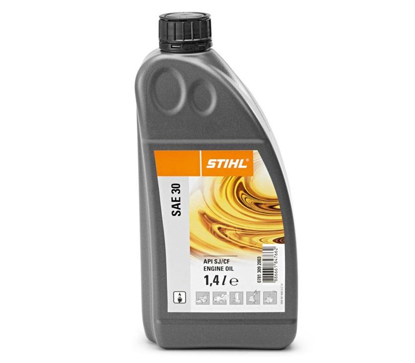 Olej STIHL pre 4-taktné motory, SAE 30, 0,5 l
