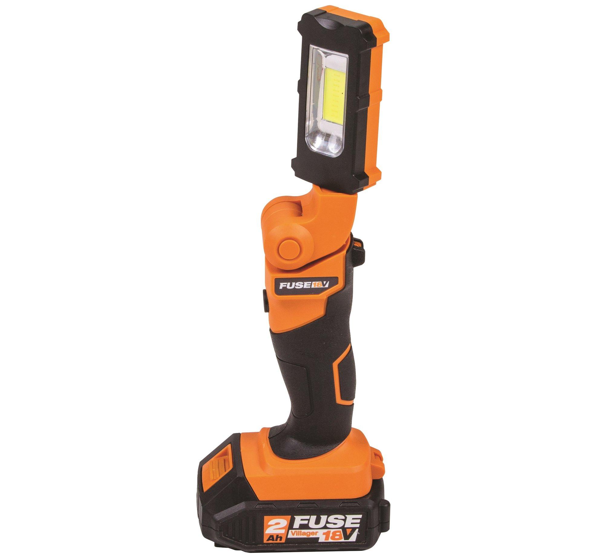 Akumulátorové pracovné svietidlo VILLAGER FUSE VLN 9120 (bez batérie a nabíjačky)