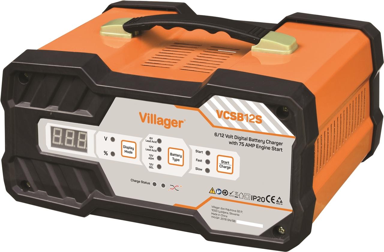 Nabíjačka VILLAGER VCSB 12 S