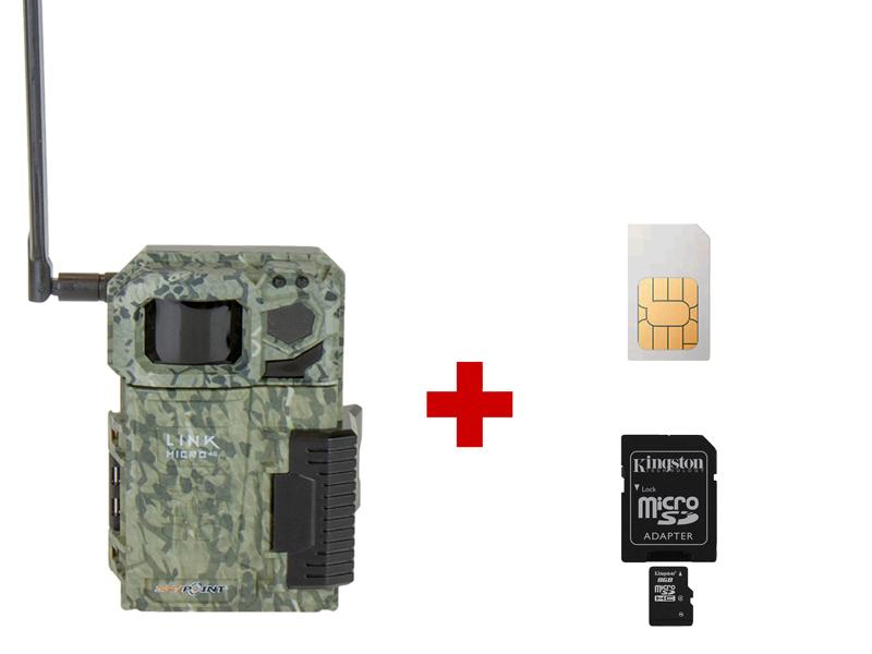 Fotopasca SPYPOINT LINK-MICRO 4G + 8GB SD karta a SIM karta ZADARMO