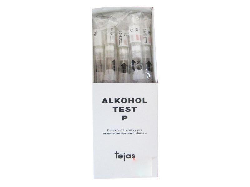 Alkoholtester - Detekčné trubičky