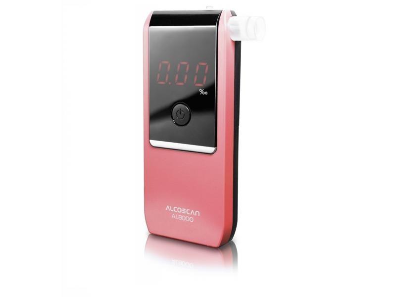 Alkoholtester AL 8000 Pink