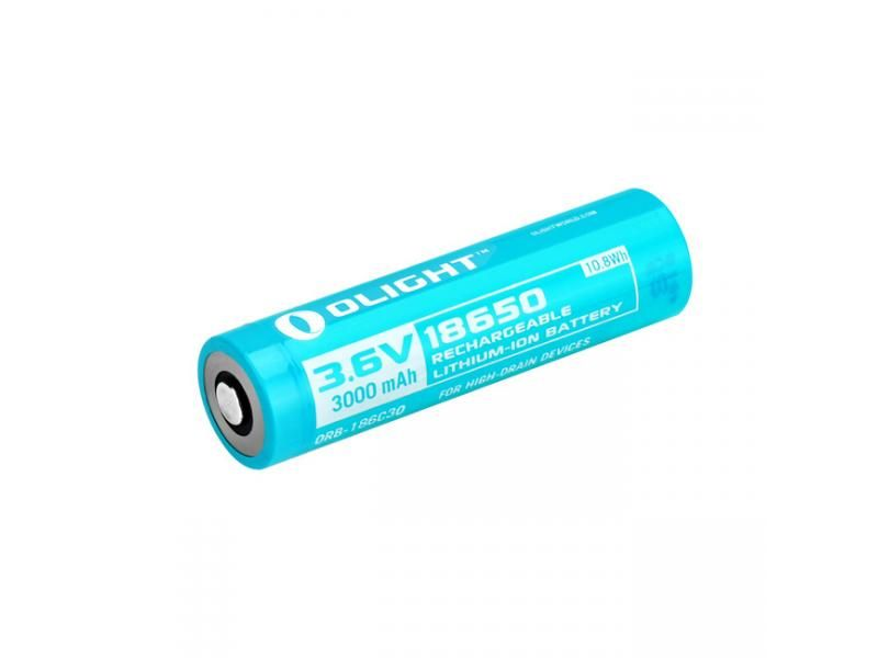 Batéria OLIGHT 18650 - nabíjateľná 3000 mAh 3,6V litium