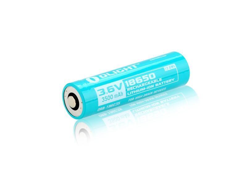 Batéria Olight 18650 - nabíjateľná 3500 mAh 3,6V litium