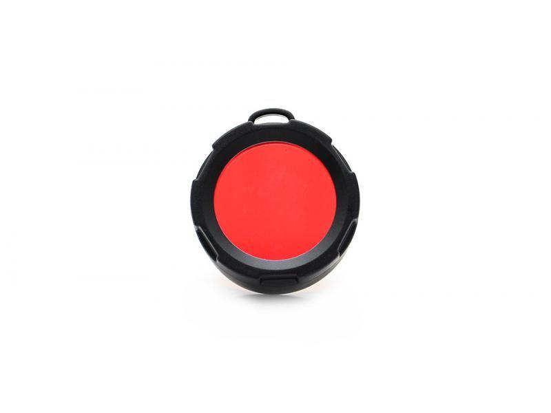 Červený filter pre Olight M21/M22/M23/R40/S80