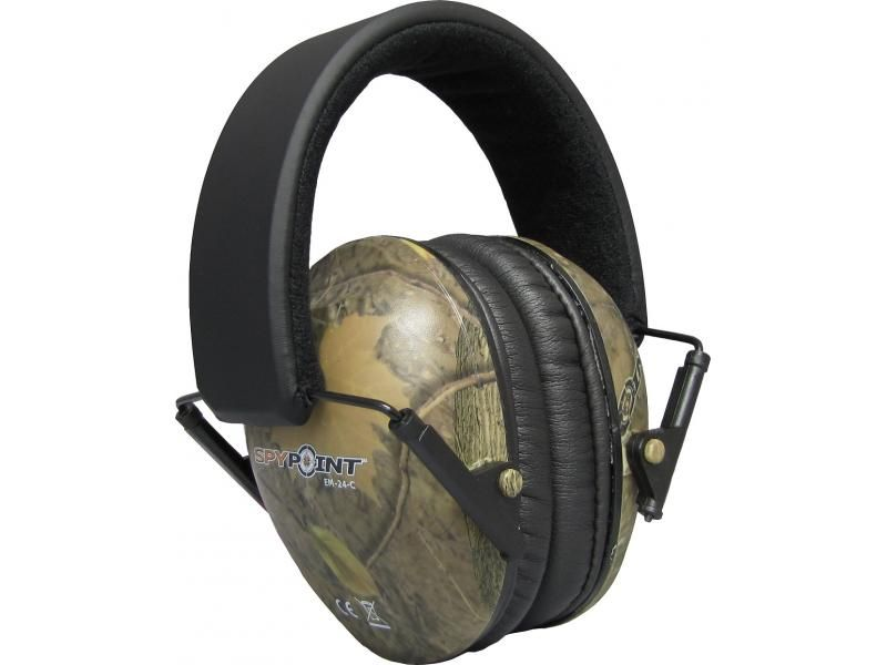 Ochrana sluchu Spy Point EM - 24 kamufláž