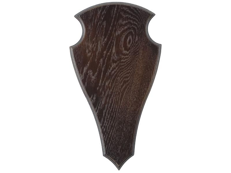 Podložka pod trofej č.2 40 x 22 cm tmavá