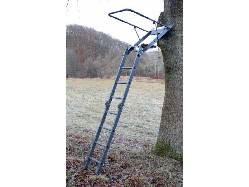 Hliníkový posedový rebrík HS40