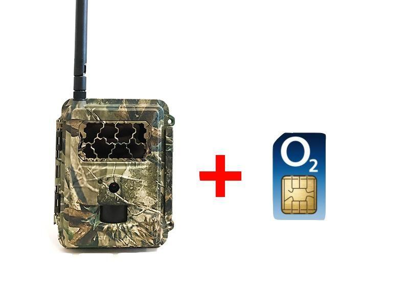 Fotopasca TETRAO Spromise S358 30Mpx 940nm MMS/4G - O2 SIM karta ZADARMO