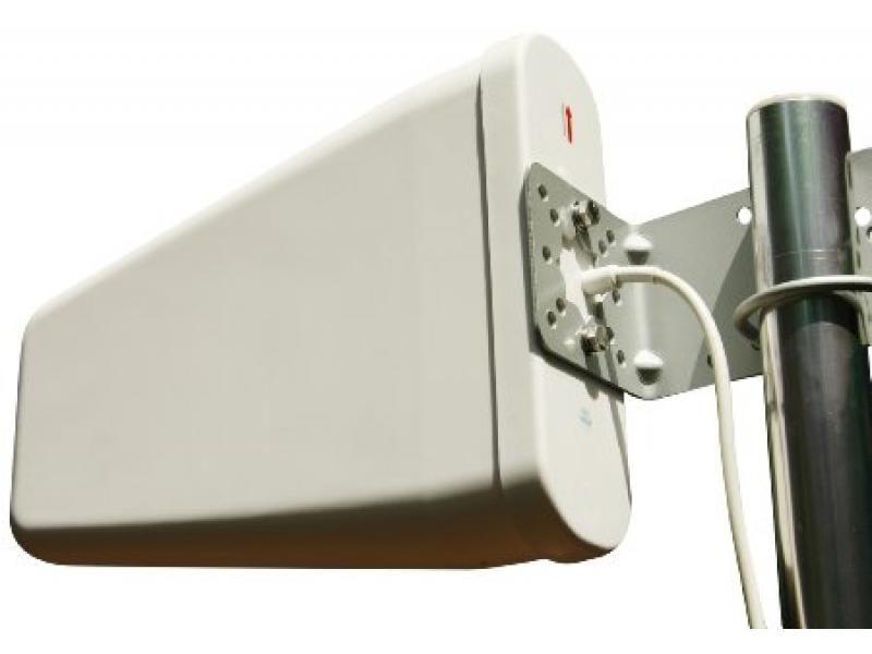 Lodná anténa biela trojuholníková pre fotopascu