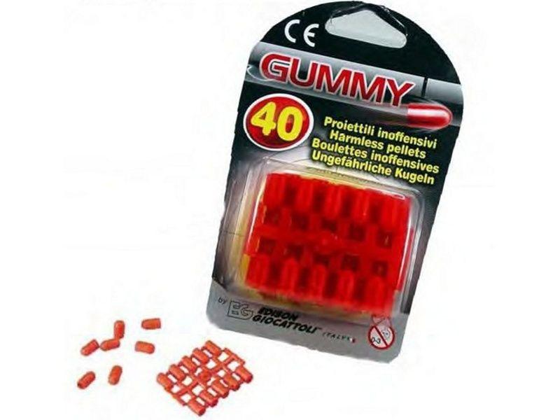 Gummy - gumené náboje 40ks