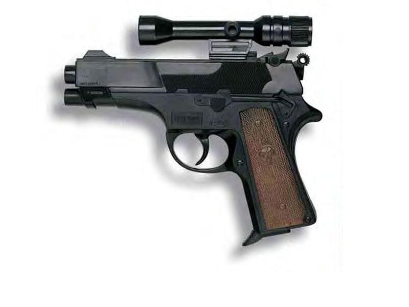 Hračkárska zbraň Leopardmatic