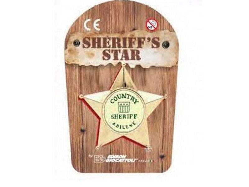 Hračkárska zbraň Scheriff star