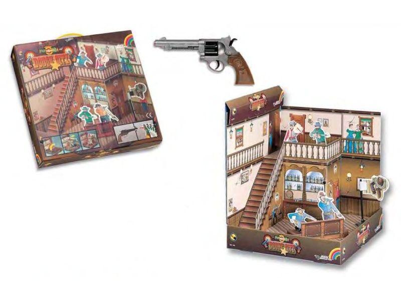Hračkárska zbraň Target 3D Dodge city