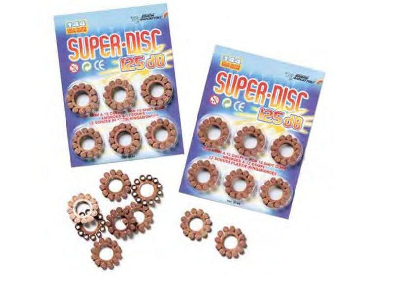 Kapsle - Super disc 12 blist