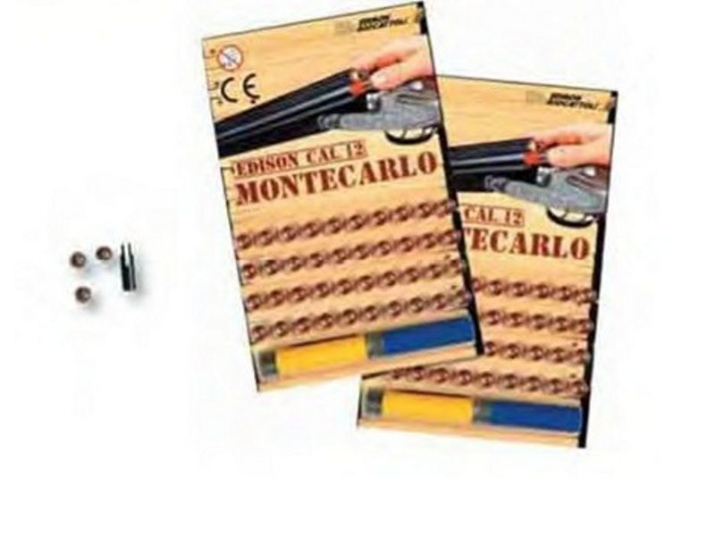 Náboje-Hračkárska zbraň Montecarlo Edison cal.12