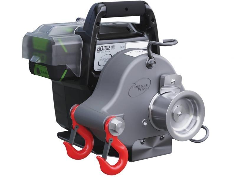 Akumulátorový navijak Portable Winch PCW3000-Li-BC