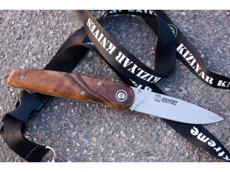 Lovecký nôž Kizlyar Bajker 2