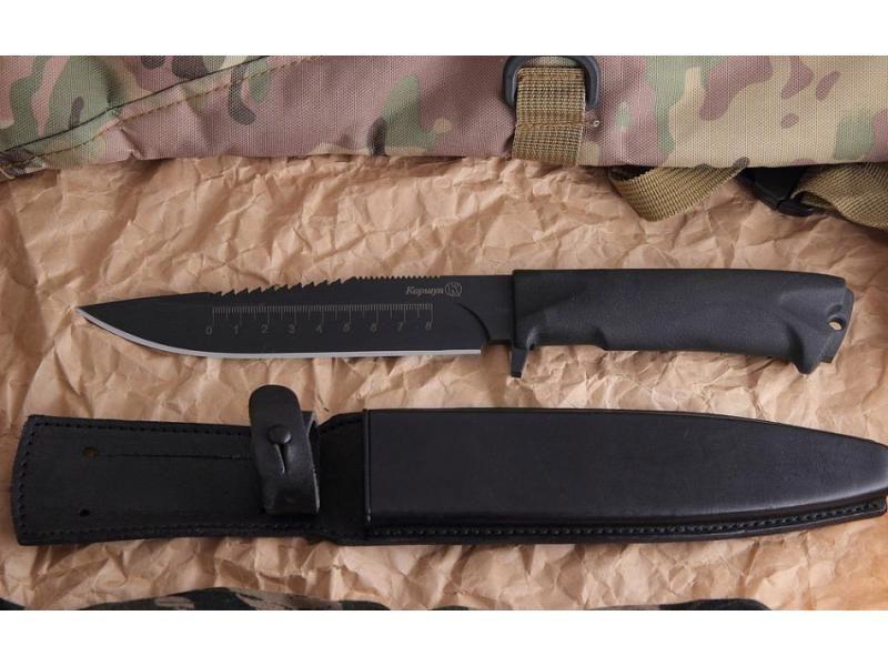 Lovecký nôž Kizlyar Korshun pila