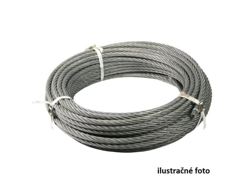 Oceľové lano 14mm, 40m ocelová duša