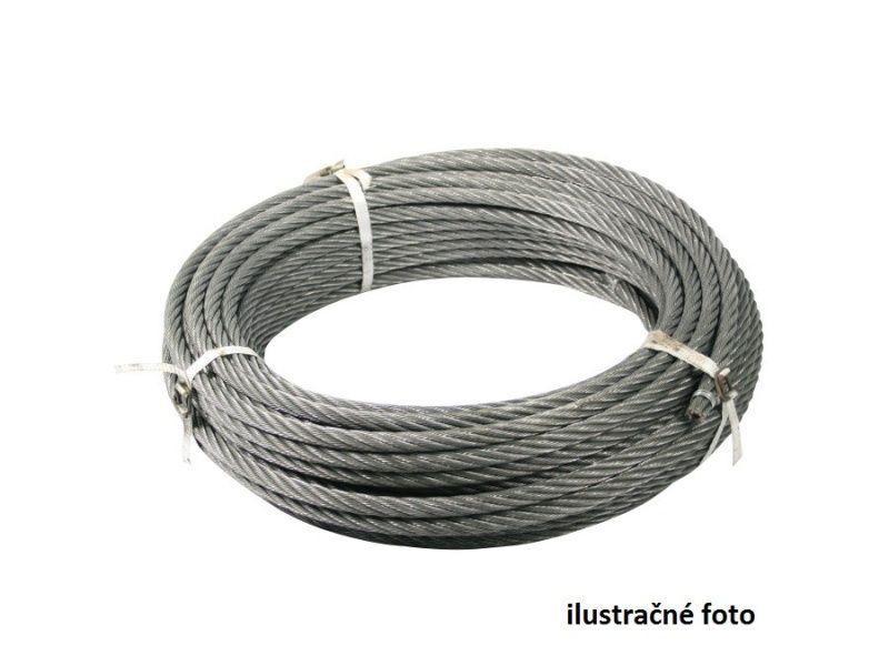 Oceľové lano 14mm, 60m, textilná duša
