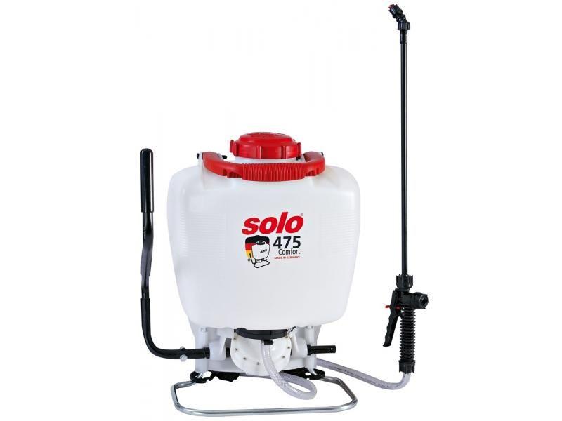 Mechanický chrbtový postrekovač SOLO 475 Comfort