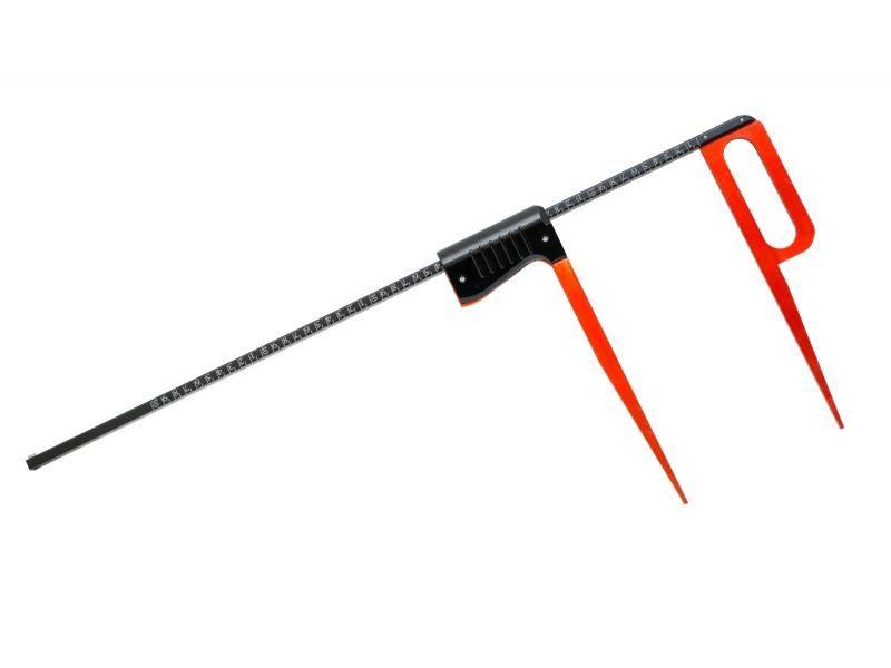 Lesnícka priemerka Red&Black LINE KINEX 80 cm