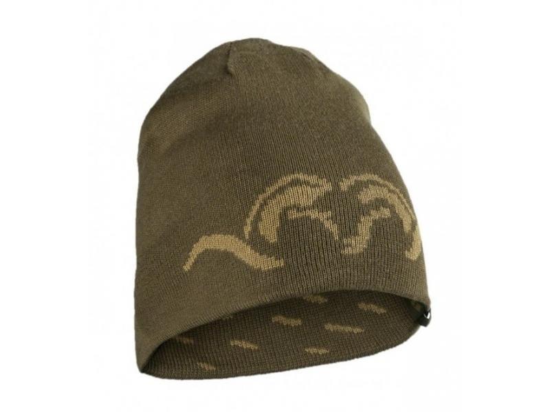 Čapica Blaser obojstranná pletená ARGALI - khaki