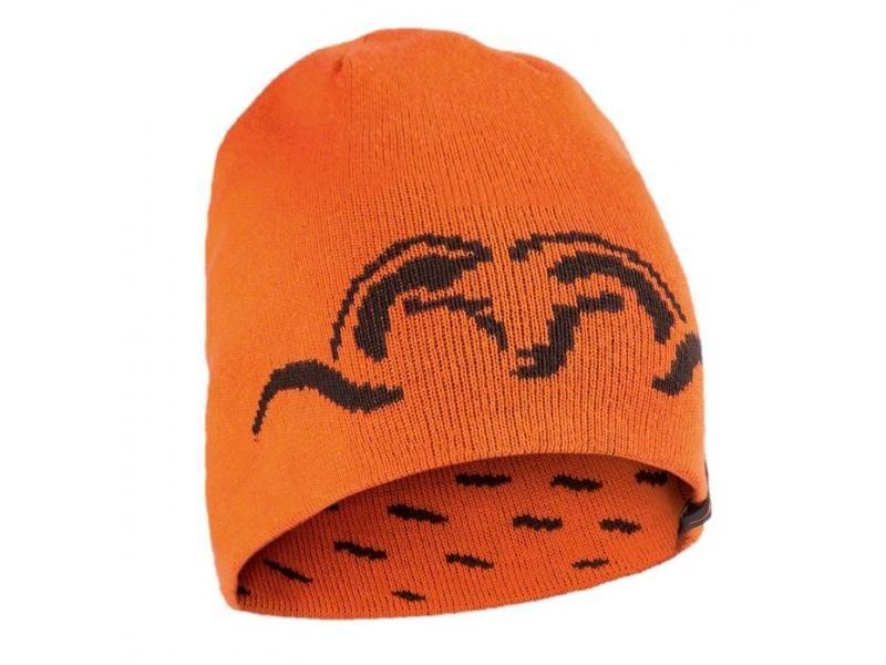 Čapica Blaser obojstranná pletená ARGALI - oranžová