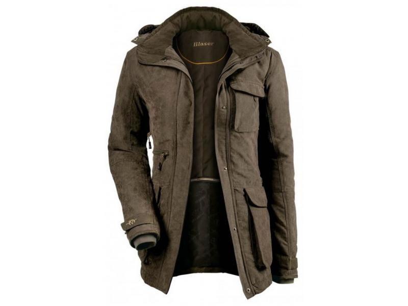 Dámska bunda Blaser Argali Winter - hnedá melanž  40
