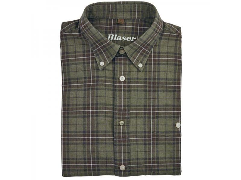 Košeľa Blaser Urs -flanel /dlhý rukáv  S