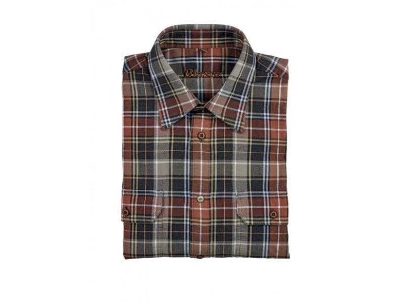 Pánska košeľa Blaser Max -flanel /dlhý rukáv  S