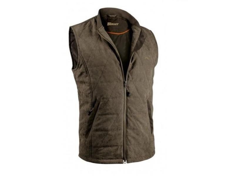 Pánska vesta Blaser Steep - hnedá melanž  XL