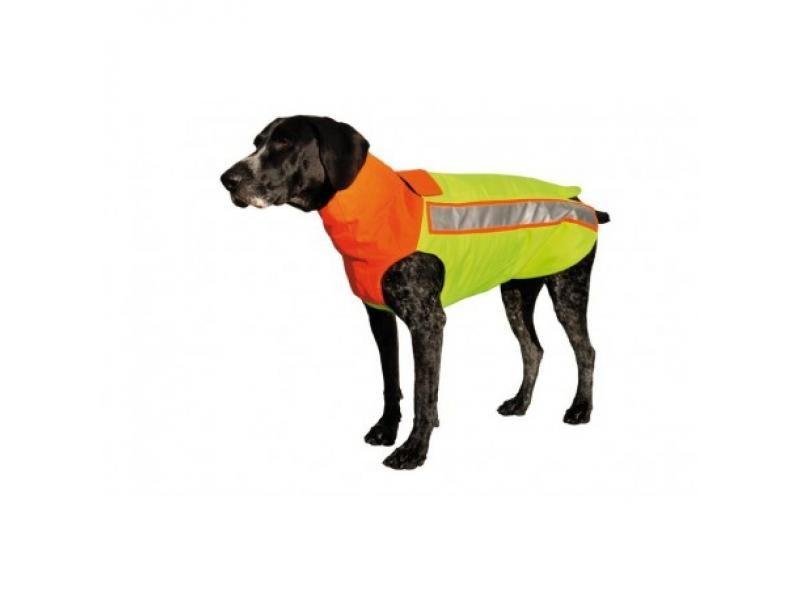 Bezpečnostná kevlarová vesta pre psa  S