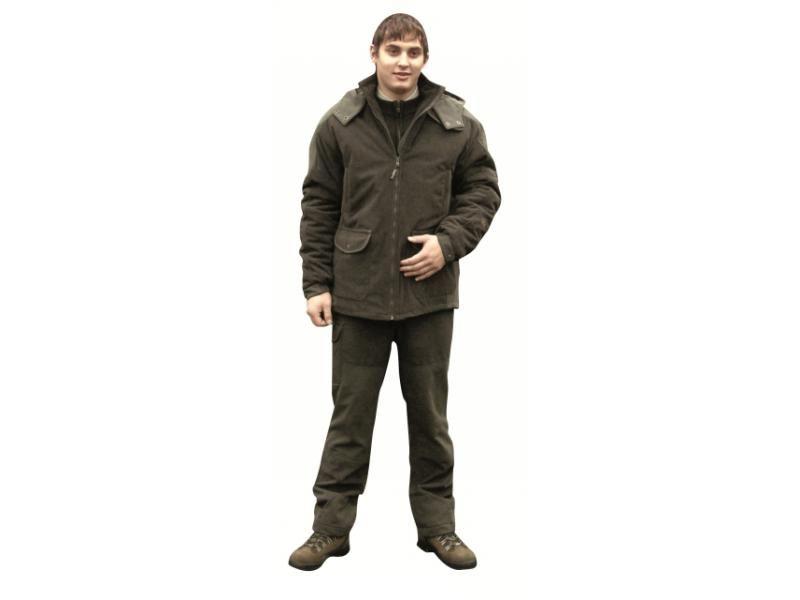 Pánska zimná poľovnícka bunda SEVER  54/170