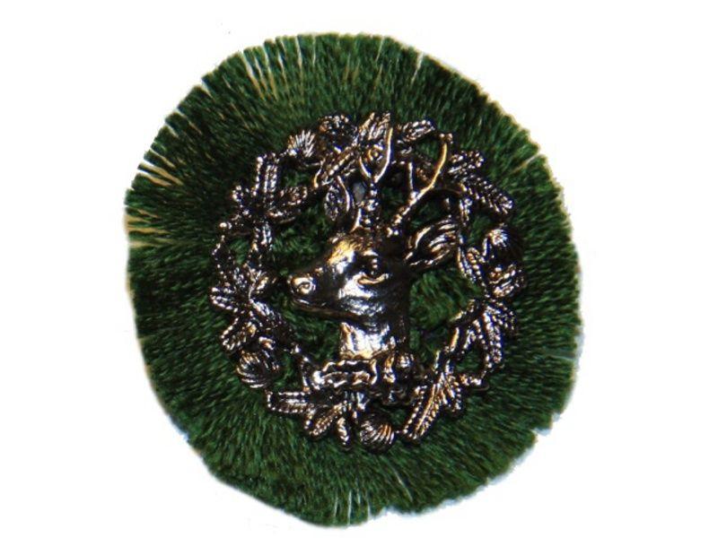 Odznak na klobúk ozdobný