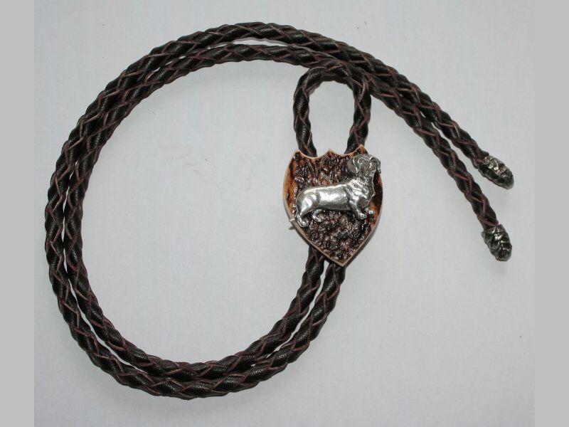 Poľovnícka kravata jazvečík
