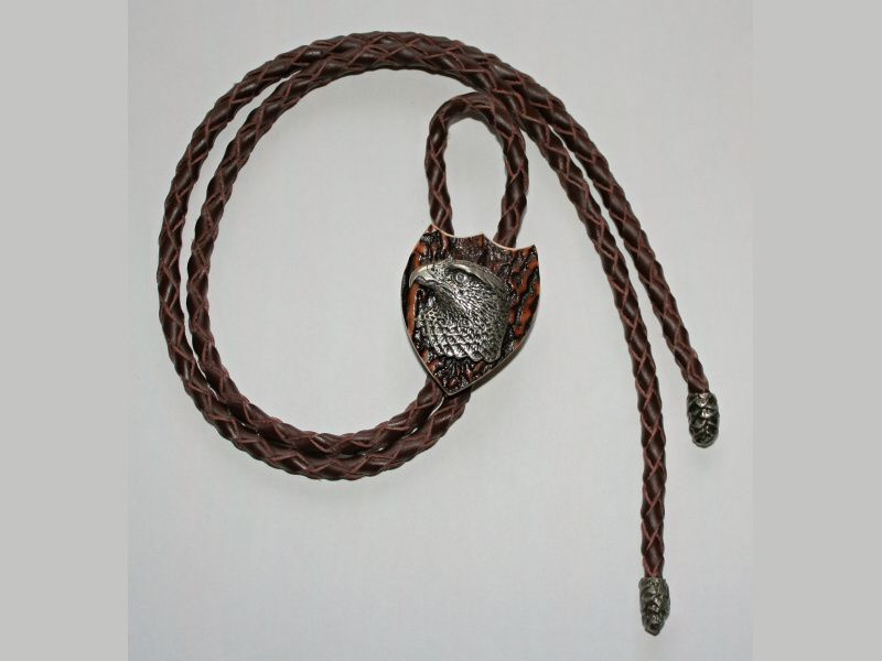 Poľovnícka kravata Sokol hlava