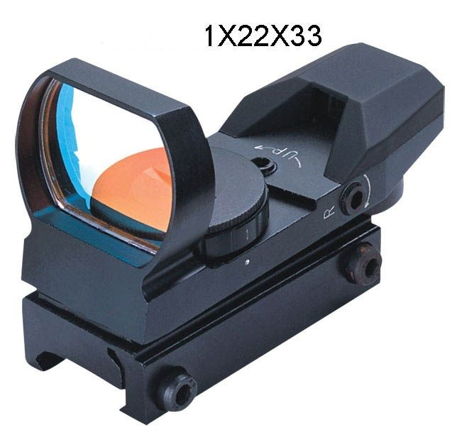 Kolimátor FOMEI 1x22x33 mm RED