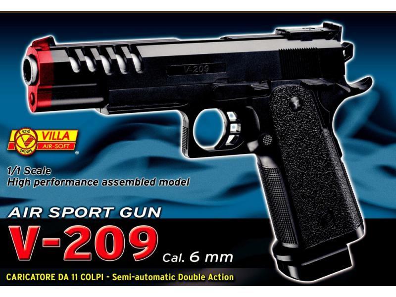 Airsoftová zbraň AIR SOFT V-209 BOX