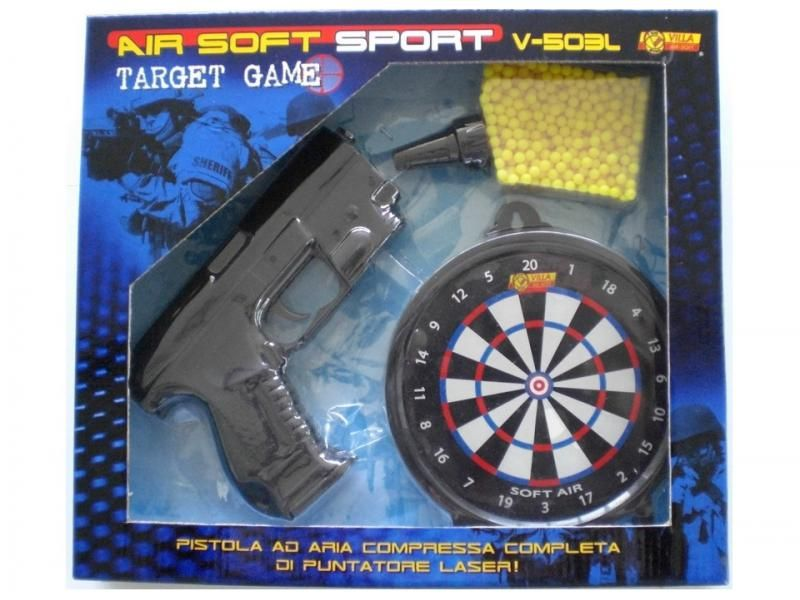 Airsoftová zbraň V-503L TARGET SET AIR SOFT 6 MM