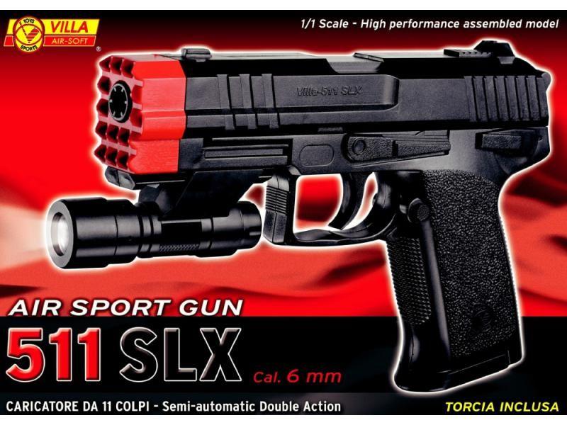 Airsoftová zbraň V-511 SLX AIR SOTF CAL. 6 mm SP