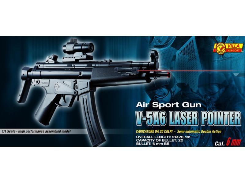 Airsoftová zbraň V-5A6 AIR SOFT CAL. 6 mm SPECIAL