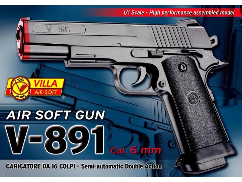 Airsoftová zbraň V-891 SUITE CASE AIR SOFT SPEC